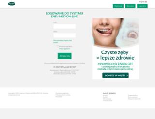 online.enel.pl screenshot
