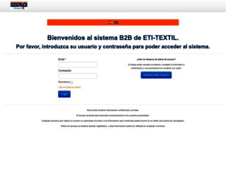 online.eti-textil.com screenshot