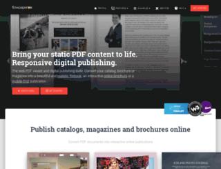 online.flowpaper.com screenshot