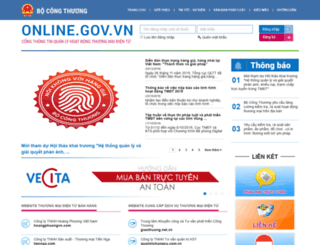 online.gov.vn screenshot