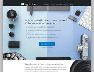 online.lightbluesoftware.com screenshot