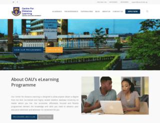 online.oaucdl.edu.ng screenshot