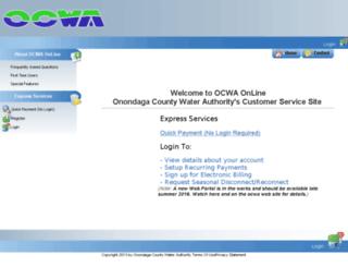 online.ocwa.org screenshot