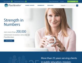 online.planmember.com screenshot