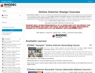 online.rhodec.org screenshot