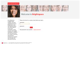 online.robertsoncollege.com screenshot