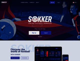 online.sokker.org screenshot