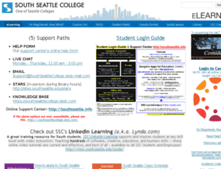 online.southseattle.edu screenshot