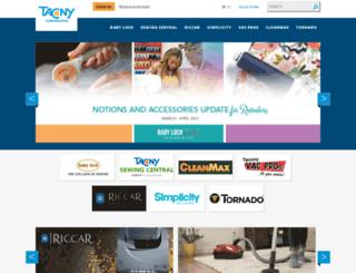 online.tacony.com screenshot