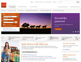 online.wellsfargo.com screenshot