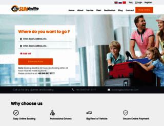 onlineairporttransfer.com screenshot