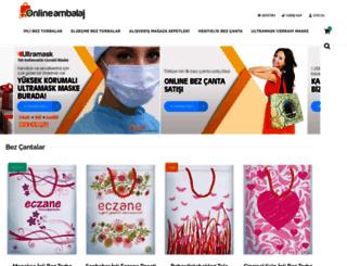 onlineambalaj.com screenshot