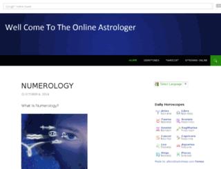 onlineastrologer.co.uk screenshot