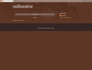 onlineatoz.net screenshot