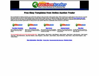 onlineauctiontrader.com screenshot