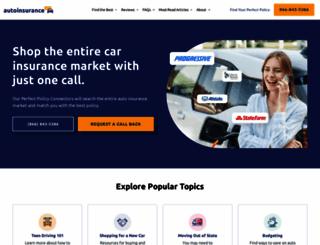 onlineautoinsurance.com screenshot