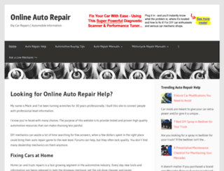 onlineautorepair.net screenshot