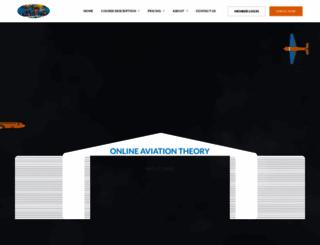 onlineaviationtheory.com screenshot