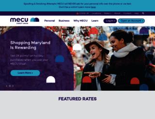 onlinebanking.mecu.com screenshot