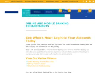 onlinebanking.nwfcu.org screenshot