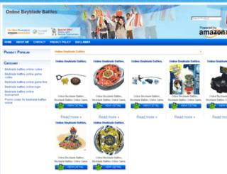onlinebeybladebattles.blogspot.com screenshot