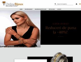 onlinebijoux.ro screenshot