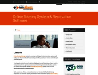 onlinebookingmanager.com screenshot