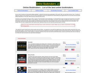 onlinebookmakers.co screenshot