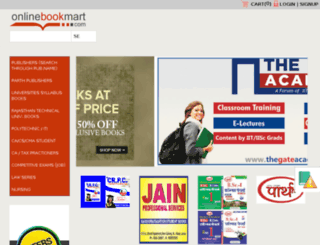 onlinebookmart.com screenshot