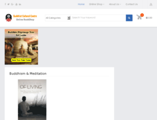 onlinebookshop.buddhistcc.com screenshot