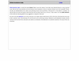 onlinebookstoreindia.in screenshot