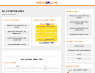 onlinebu.com screenshot