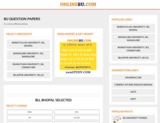 onlinebu.com screenshot