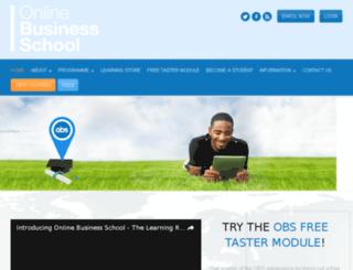 onlinebusinessschool.com.ng screenshot