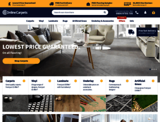 onlinecarpets.co.uk screenshot