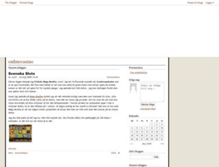 onlinecasino.bloggagratis.se screenshot