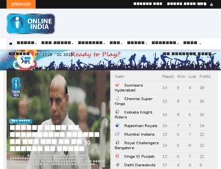 onlinecg.in screenshot
