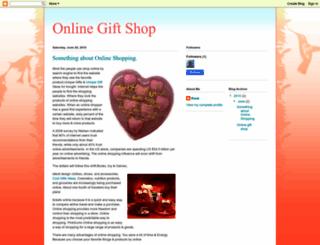 onlinecheapgiftsshop.blogspot.com screenshot