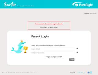 onlinechild.puresight.com screenshot