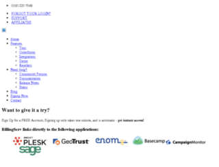 onlineclientform.com screenshot