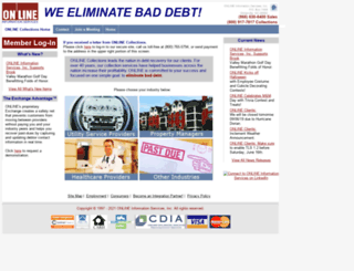 onlinecollections.com screenshot