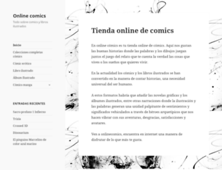 onlinecomics.es screenshot