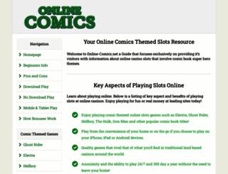 onlinecomics.net screenshot
