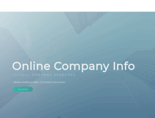 onlinecompanyinfo.com screenshot