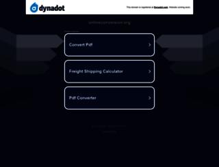 onlineconversion.org screenshot