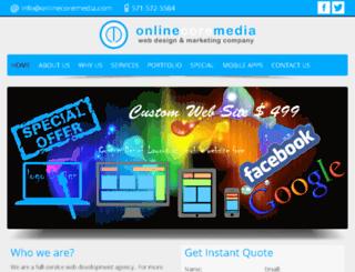 onlinecoremedia.com screenshot