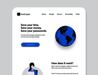 onlinecrypto.com screenshot