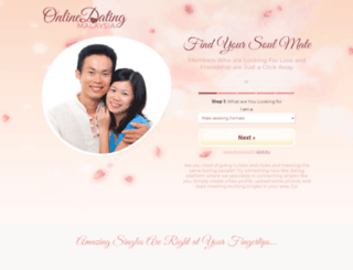 onlinedatingmalaysia.com screenshot