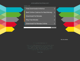 onlinedirectoryfree.com screenshot
