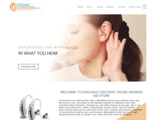 onlinediscounthearingaids.com screenshot